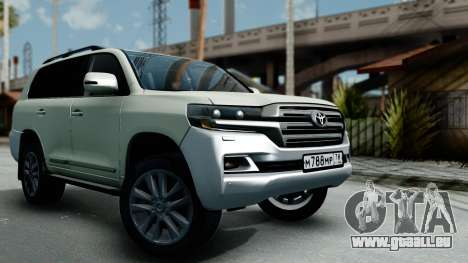 Toyota Land Cruiser 200 2016 Bulkin Edition für GTA San Andreas