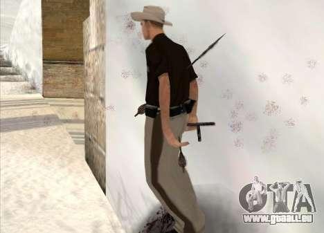 Tir à l'arc pour GTA San Andreas cinquième écran