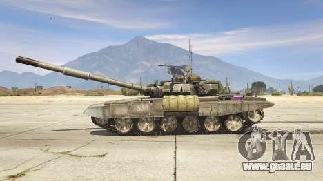 GTA 5 T-90 linke Seitenansicht