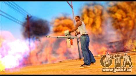 The Best Effects of 2015 pour GTA San Andreas cinquième écran