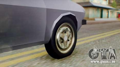 Dacia 1310 v2 pour GTA San Andreas sur la vue arrière gauche
