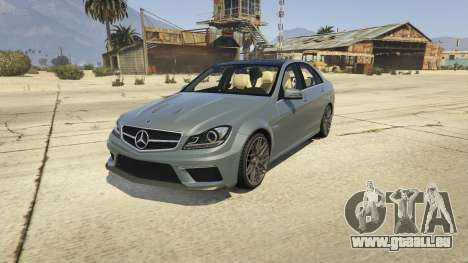 Mercedes-Benz C63 AMG v2 pour GTA 5