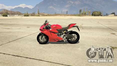 GTA 5 Ducati 1299 Panigale S v1.1 linke Seitenansicht