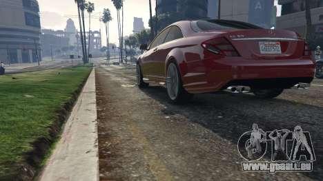 GTA 5 Mercedes-Benz E63 AMG v2.1 vue arrière