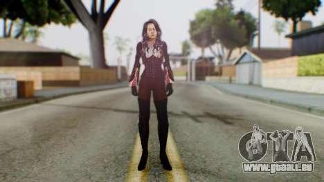 Jillanna pour GTA San Andreas deuxième écran