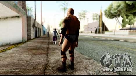 WWE The Rock pour GTA San Andreas troisième écran