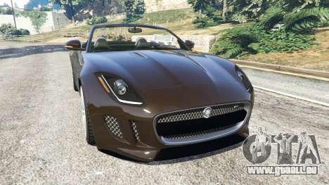 Jaguar F-Type 2014 für GTA 5
