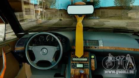 Mercedes-Benz E420 für GTA San Andreas rechten Ansicht