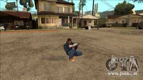 Supplémentaires animation TEC-9 pour GTA San Andreas troisième écran