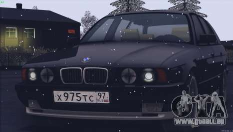 BMW M5 E34 Touring 1995 pour GTA San Andreas