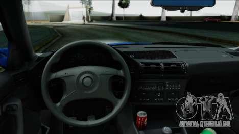 BMW M5 E34 US-spec 1994 (Full Tunable) pour GTA San Andreas vue de droite