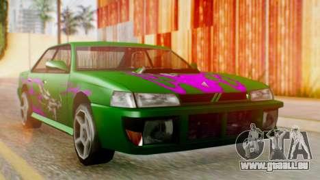 Sultan Винил из Need For Speed Underground 2 für GTA San Andreas