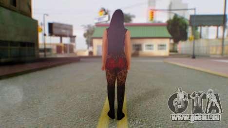 WWE Aksana pour GTA San Andreas troisième écran