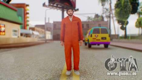 FOR-H Prisoner pour GTA San Andreas deuxième écran