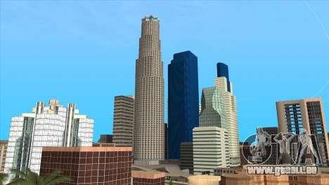 LSPD, All Saints Hospital & Skyscrapers 2016 pour GTA San Andreas
