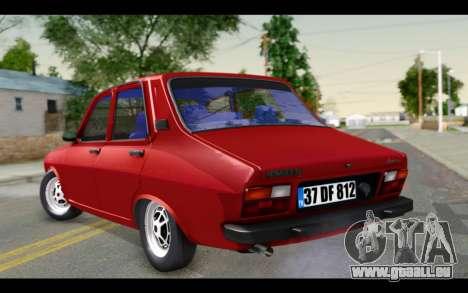Renault 12 Toros pour GTA San Andreas laissé vue