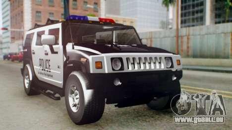 New Police Ranger für GTA San Andreas