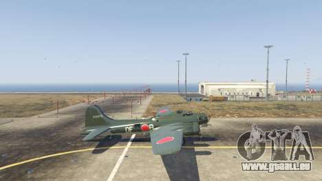 GTA 5 Boeing B-17 Flying Fortress zweite Screenshot