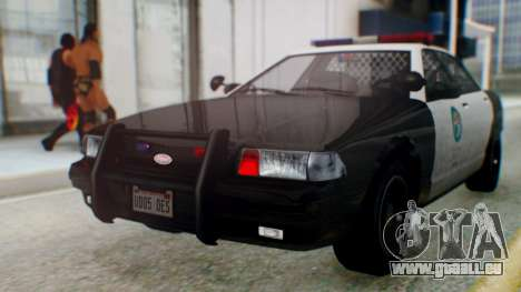 GTA 5 Vapid Stanier II Police für GTA San Andreas