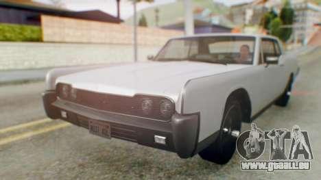 GTA 5 Vapid Chino Tunable pour GTA San Andreas