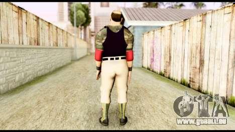 WWE Sgt Slaughter 2 pour GTA San Andreas troisième écran