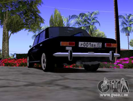 VAZ 2101 KBR für GTA San Andreas zurück linke Ansicht