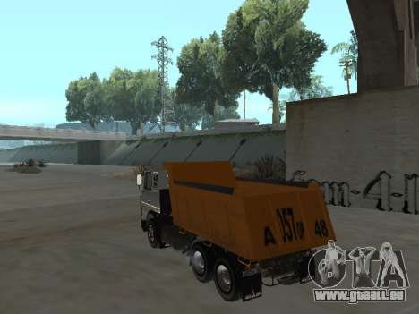 MAZ 551605-221-024 für GTA San Andreas linke Ansicht