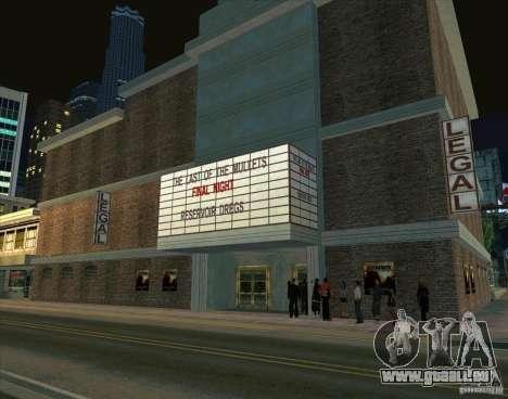 Alles über Kino für GTA San Andreas