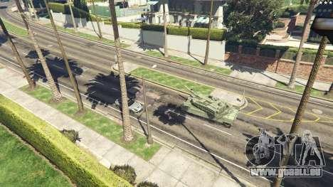 GTA 5 K2 Black Panther vue arrière