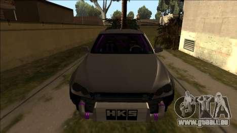 Lexus IS300 Drift pour GTA San Andreas vue de droite
