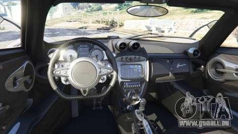 Pagani Huayra 2013 v1.1 [black rims] pour GTA 5
