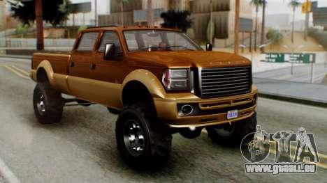 GTA 5 Vapid Sandking XL für GTA San Andreas