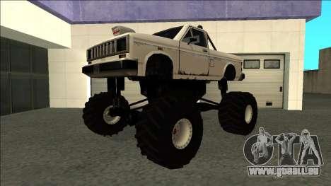 Bobcat Monster Truck für GTA San Andreas