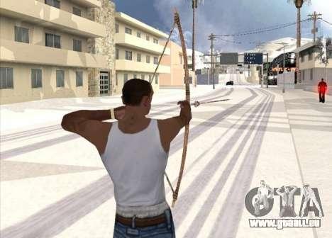 Bogenschießen für GTA San Andreas zweiten Screenshot