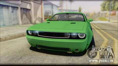 Dodge Challenger LB Perfomance für GTA San Andreas rechten Ansicht