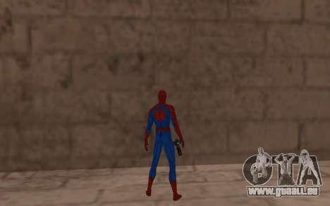 Amazing Spider-Man Version Comique par Robinosuk pour GTA San Andreas quatrième écran