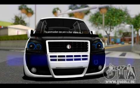 Fiat Doblo pour GTA San Andreas vue arrière