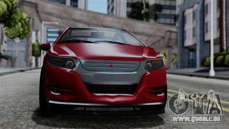 GTA 5 Cheval Surge IVF für GTA San Andreas zurück linke Ansicht