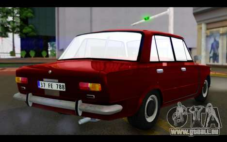 Fiat 124 für GTA San Andreas linke Ansicht