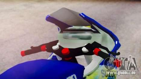 Suzuki FXR150 für GTA San Andreas Rückansicht