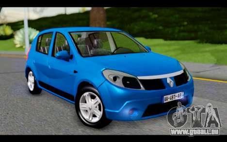 Renault Sandero für GTA San Andreas
