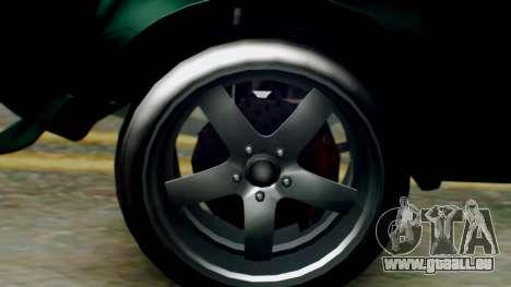 GTA 5 Imponte Nightshade pour GTA San Andreas sur la vue arrière gauche