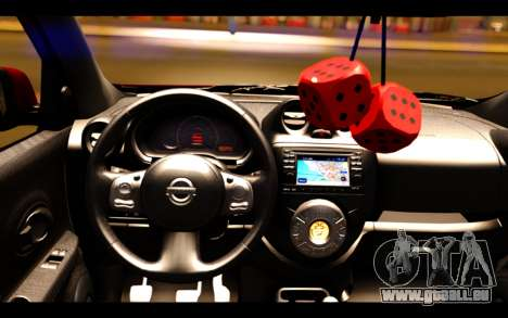Nissan March 2011 Hellaflush pour GTA San Andreas vue de droite