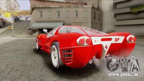 Ferrari P7 Chromo für GTA San Andreas linke Ansicht
