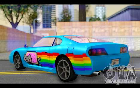 Jester PJ of Nyan Cat für GTA San Andreas linke Ansicht