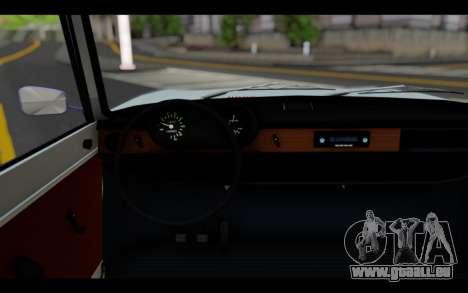 Wartburg 353 für GTA San Andreas zurück linke Ansicht