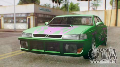 Sultan Винил из Need For Speed Underground 2 für GTA San Andreas rechten Ansicht