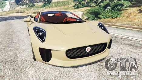 Jaguar C-X75 pour GTA 5