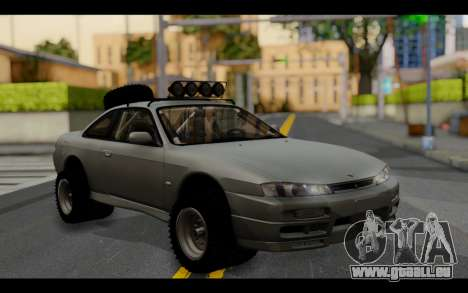 Nissan Silvia S14 Rusty Rebel für GTA San Andreas