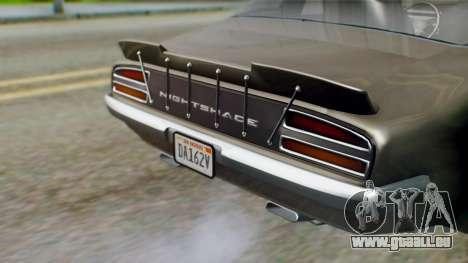 GTA 5 Imponte Nightshade IVF pour GTA San Andreas vue intérieure